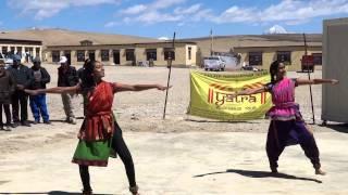Shalini & Sneha Bathina, Dance at Lake Manasarovar/Mount Kailash