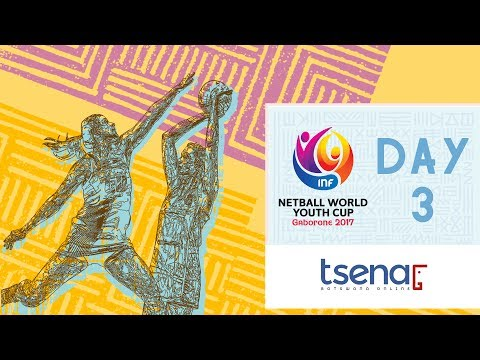 LIVE! Netball World Youth Cup 2017   Day Three