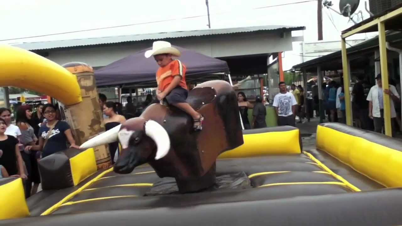 Image result for kid on rodeo bull