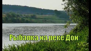 Рыбалка на реке Дон летом после нереста
