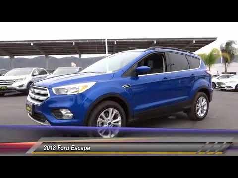 2018 Ford Escape TEMECULA BEAUMONT MENIFEE PERRIS LAKE ELSINORE MURRIETA R181040