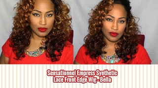Sensationnel Empress Synthetic Lace Front Edge Wig – Bella | Blackhairspray