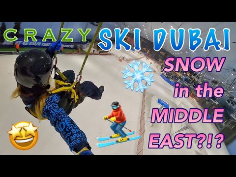 SKI DUBAI SNOW PARK, FIRST SKI RESORT IN THE MIDDLE EAST LOCATED AT THE MALL OF THE EMIRATES
