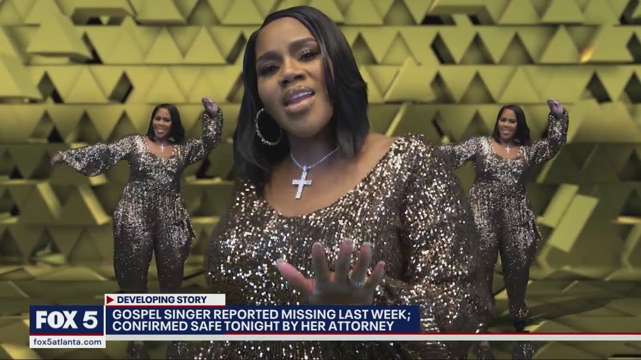 Gospel singer Kelly Price is no longer considered a missing person ...