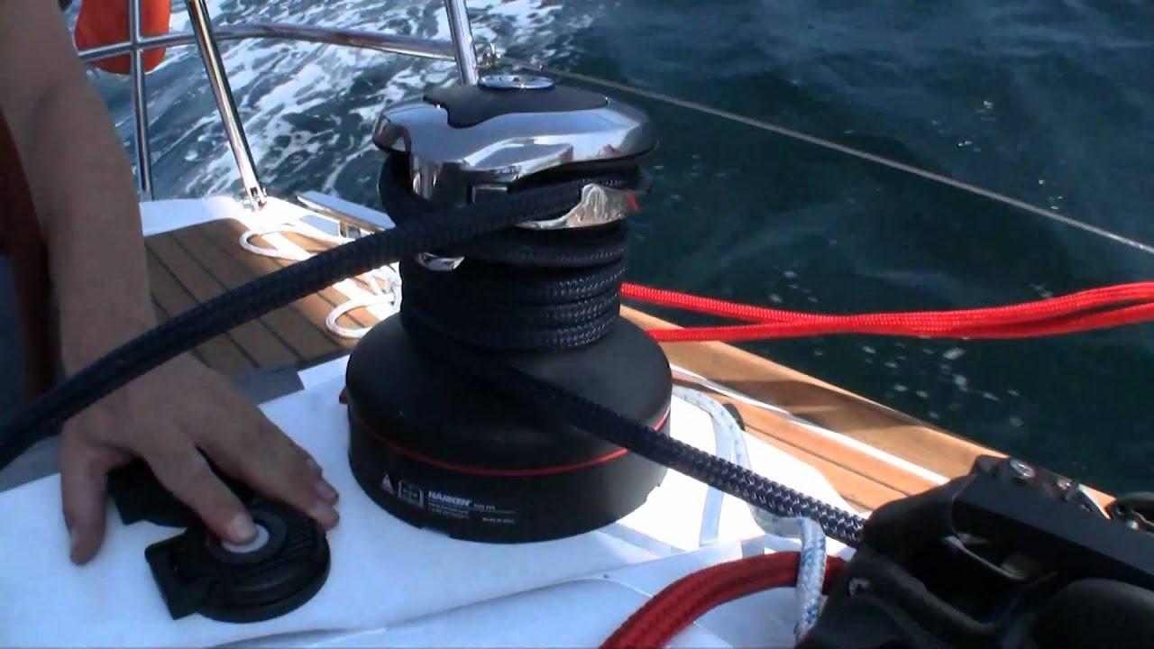 Harken Rewind Radial Electric Winch YouTube