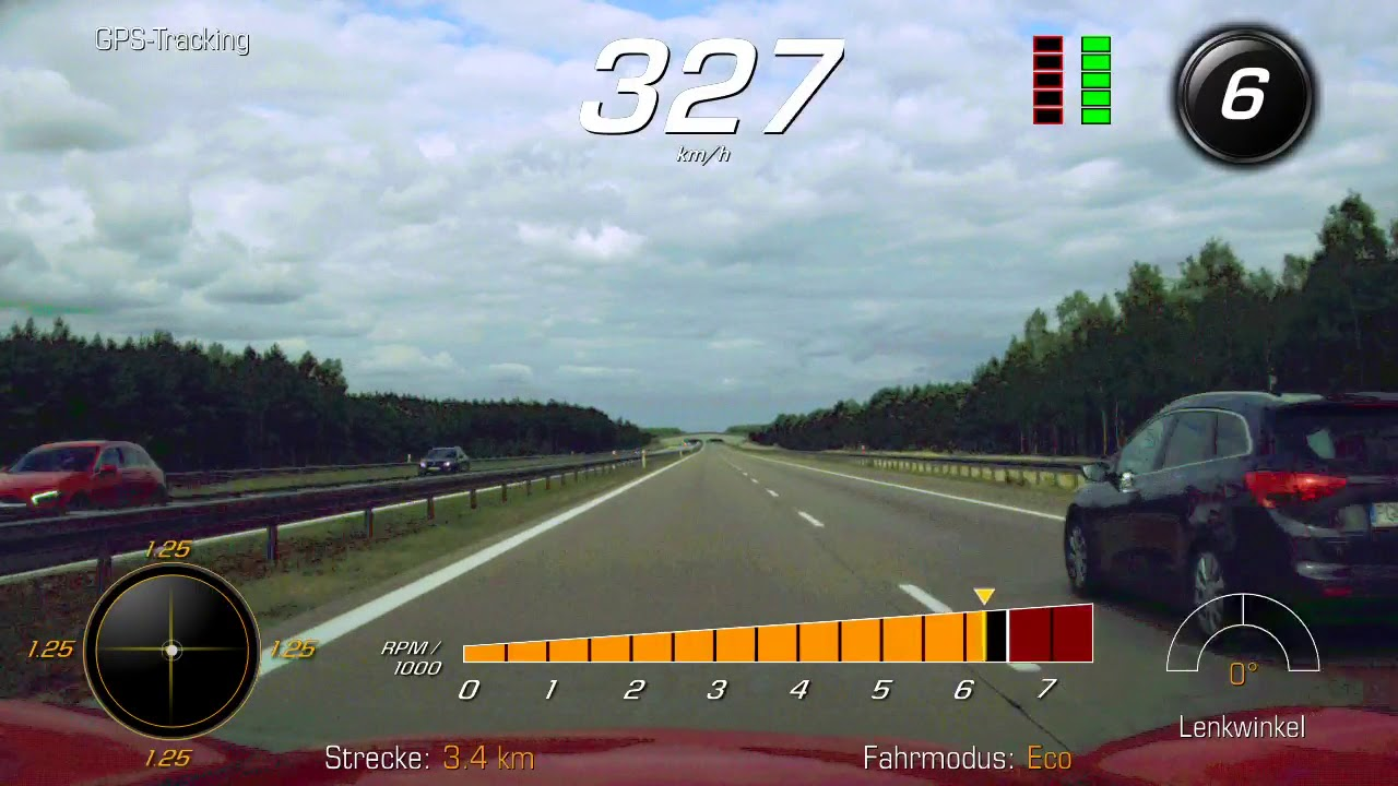 V-Max Corvette C7 Z06 Cabrio Top Speed Fahrt in Polen