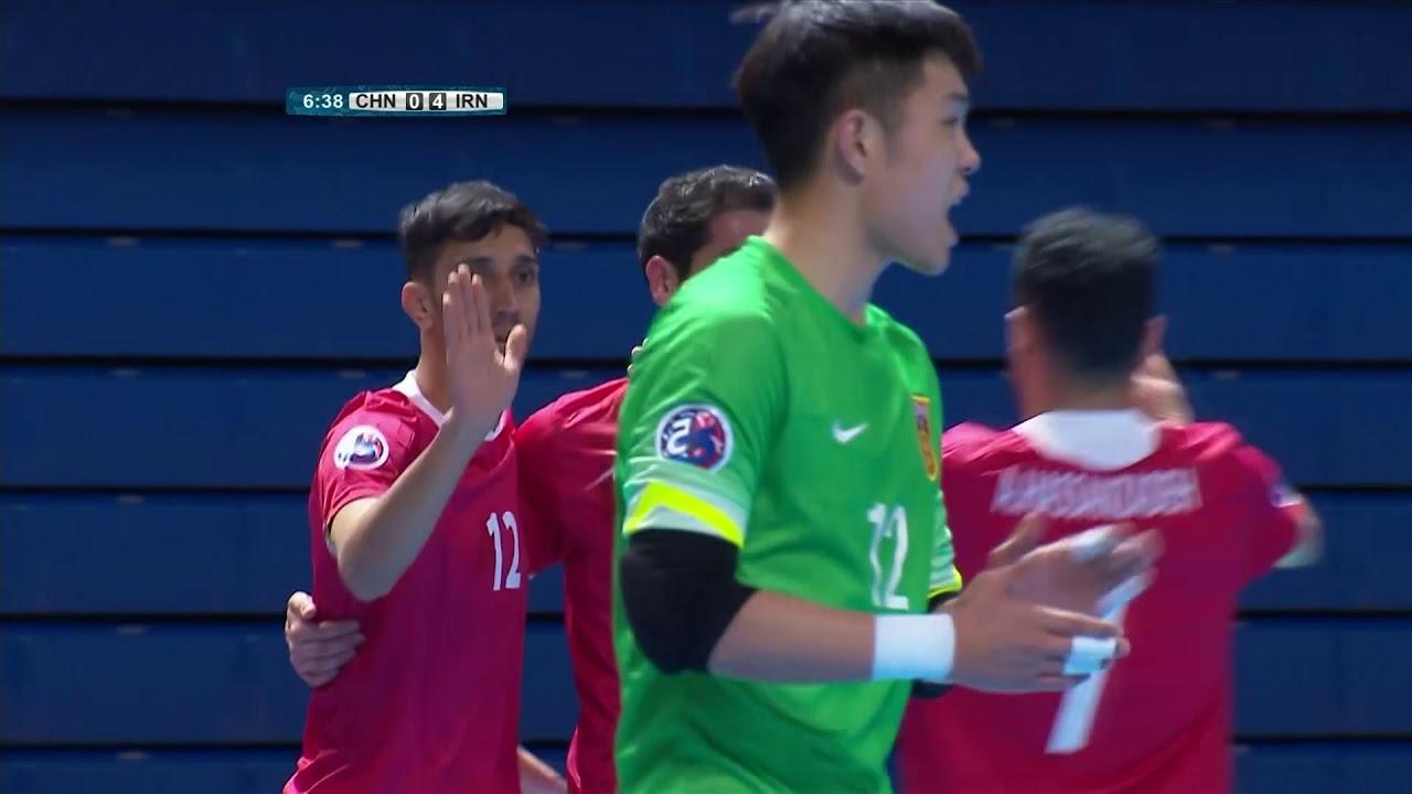 Video: Futsal Trung Quốc vs Futsal Iran