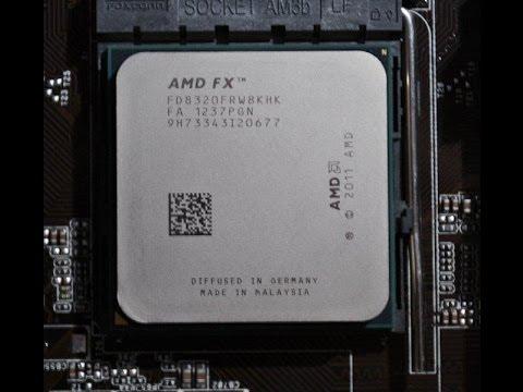 процессор AMD FX-8320 (AM3+)