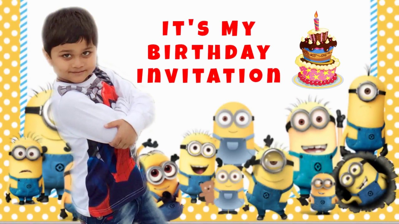 Whatsapp Birthday Invitations