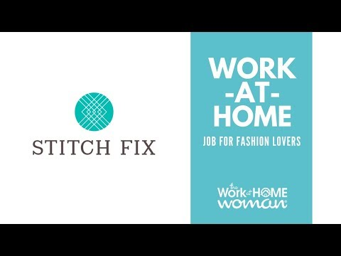 Work-at-Home Job For Fashion Lovers