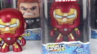 MARVEL Avengers SUPERHEROES Mighty Muggs with Spiderman, Ironman, I...