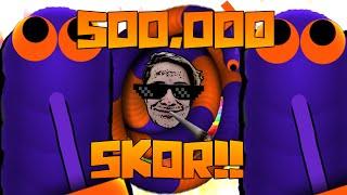 TOPLAMDA 500.000 SKOR!! - Slither.io