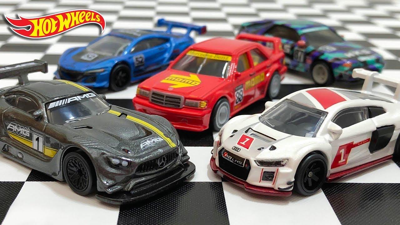 2019 Hot Wheels Car Culture Open Track Audi R8 LMS