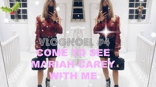 VLOGNOEL #4 | COME TO SEE MARIAH CAREY & WHAT HAPPENED AT LIVERPOOL ST STATION | IAM CHOUQUETTE