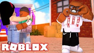 HE STOLE MY GIRLFRIEND IN ROBLOX, (Roblox Bloxburg)