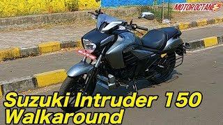 Suzuki Intruder Walkaround Review in Hindi   MotorOctane