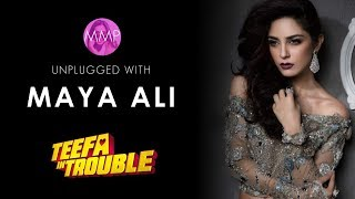 Unplugged with Maya Ali - Teefa in Trouble |Momina's Mixed Plate| Episode 8