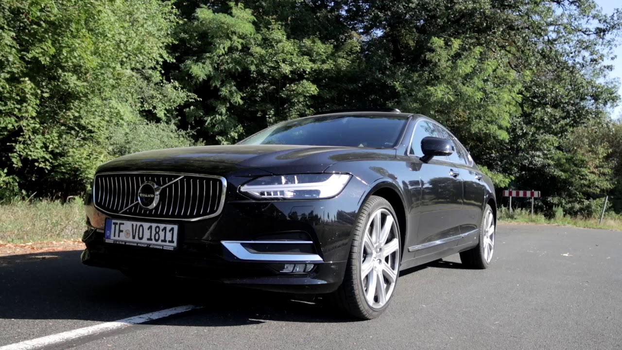 2018 Volvo S90 D4 Awd Review Fahrbericht Test Youtube