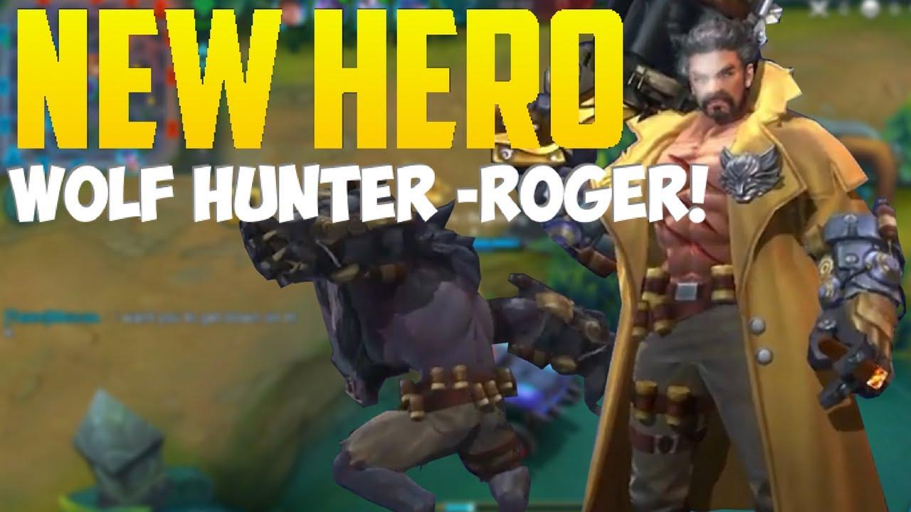 New 3 hero Roger Lapu Lapu Vexana in mobile legend