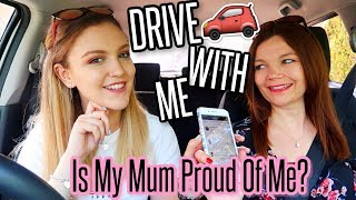 Is My Mum Proud Of Me, Opinions on My Boyfriend & Pregnant at 18?! | Drive With Me!