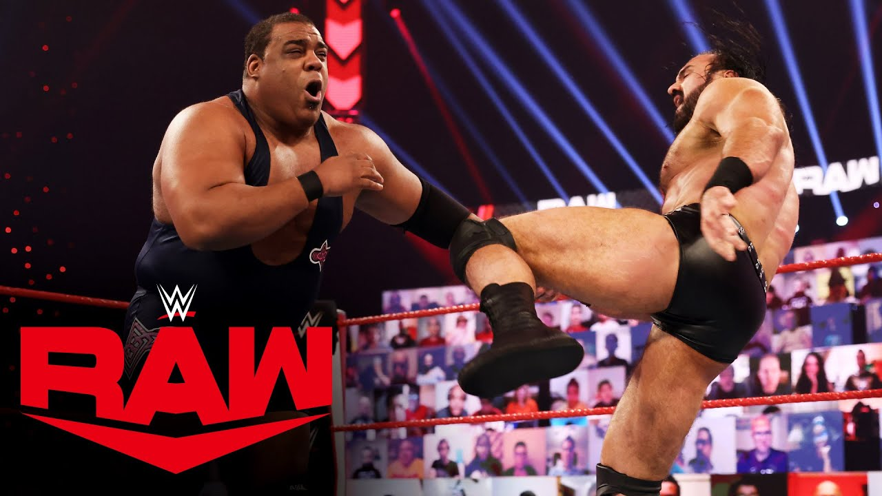 Drew McIntyre vs. Keith Lee – WWE Championship Match: Raw, Jan. 4, 2021