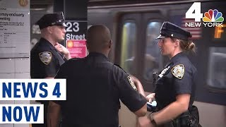 Firecracker on NYC Subway Train Sparks Stampede | News 4 Now