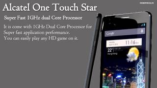 Alcatel One Touch Star Price and Specifications