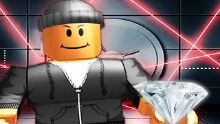 STEALING THE DIAMOND IN ROBLOX!