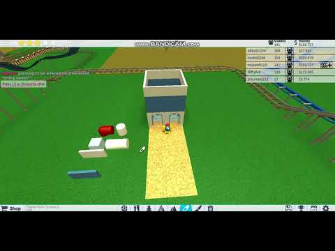 Theme Park Tycoon 2 Hack Money Unlimited Work Youtube