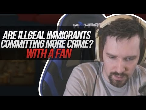 Are Illegal Immigrants Committing More Crime - Debate with Fan