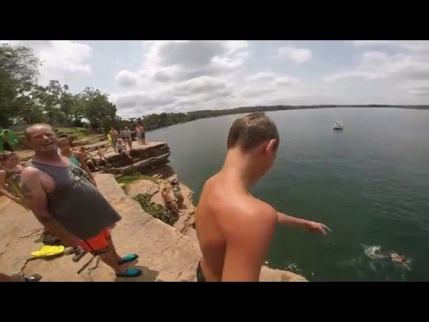 Heber Springs Cliff Jumping