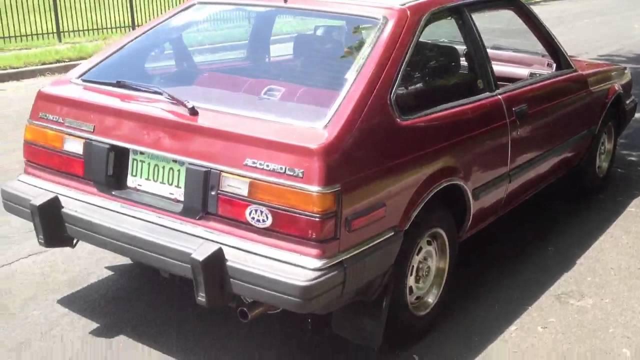 1982 Honda Accord Lx 3 Door Hatchback Youtube