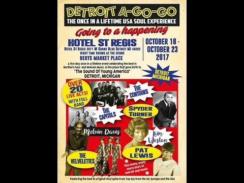 "Northern Soul Detroit A Go-Go ""2017"" Event In Bert's Motown Room... Detroit, Michigan"
