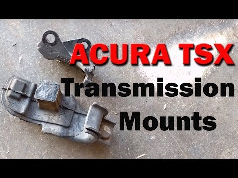 HOW TO | Acura TSX | Replace Transmission Mounts