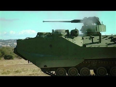 BAE Systems - AAV7A1 RAM/RS Assault Amphibious Vehicle [720p]