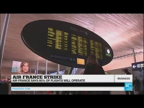 KLM staff criticise Air France pilots' strike