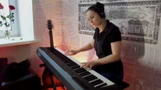 Москва - Монгол Шуудан - на стихи С. Есенина - PIANO COVER by Saprina