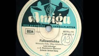 Amiga 1 50 650  Fidlowatschka - Lutz Jahoda, Das Hemmann-Quintett