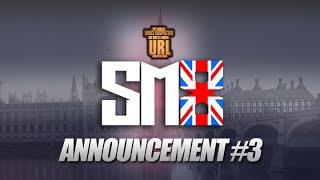 SM8 ANNOUNCEMENT # 3| URLTV (11-10-18)