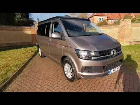 Volkswagen T28 Camper 2017 Trendline 2.0 Diesel Bluemotion - Claridges Cars HD