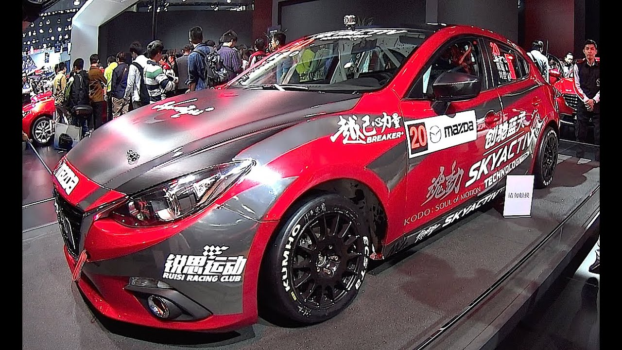 900 HP Mazda 3 Racing car Mazda Axela 2015, 2016 video interior ...