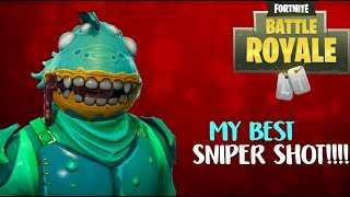My Best Sniper Shot EVER!! (Fortnite Funny Moments and Clips)