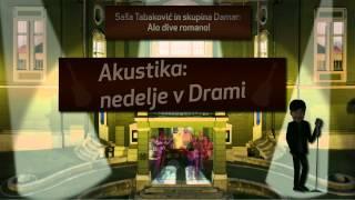Koncert Saše Tabakovića in skupine Damar: Alo dive romano!