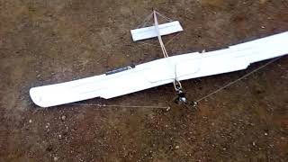 Slow flying rc airplane- pre flight