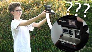 30 JAHRE alte Sofort-Kamera getestet! Funktioniert sie noch?| HeyMoritz