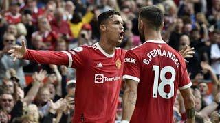 Manchester United 4 - 1 Newcastle (RONALDO SHOW YAPTI) 2 GOL İLE MAÇIN YILDIZI .