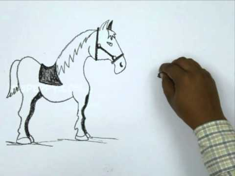 How to draw a soldier and horse youtube how to draw a soldier and horse ccuart Gallery