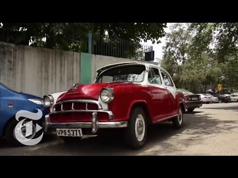Road Ends for India's Iconic Ambassador Car | The New York Times