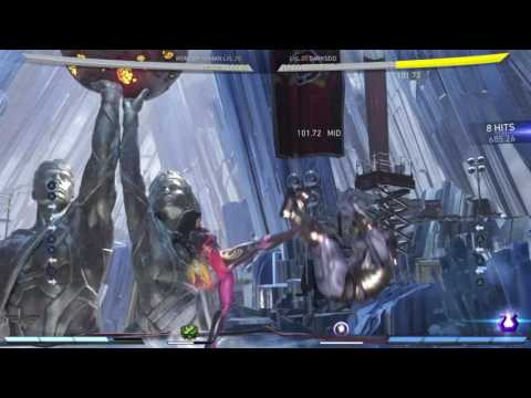 Wonder Woman Artemis Strength & parry on highest hp character