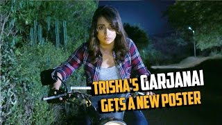 Trisha's Garjanai Gets a New Poster